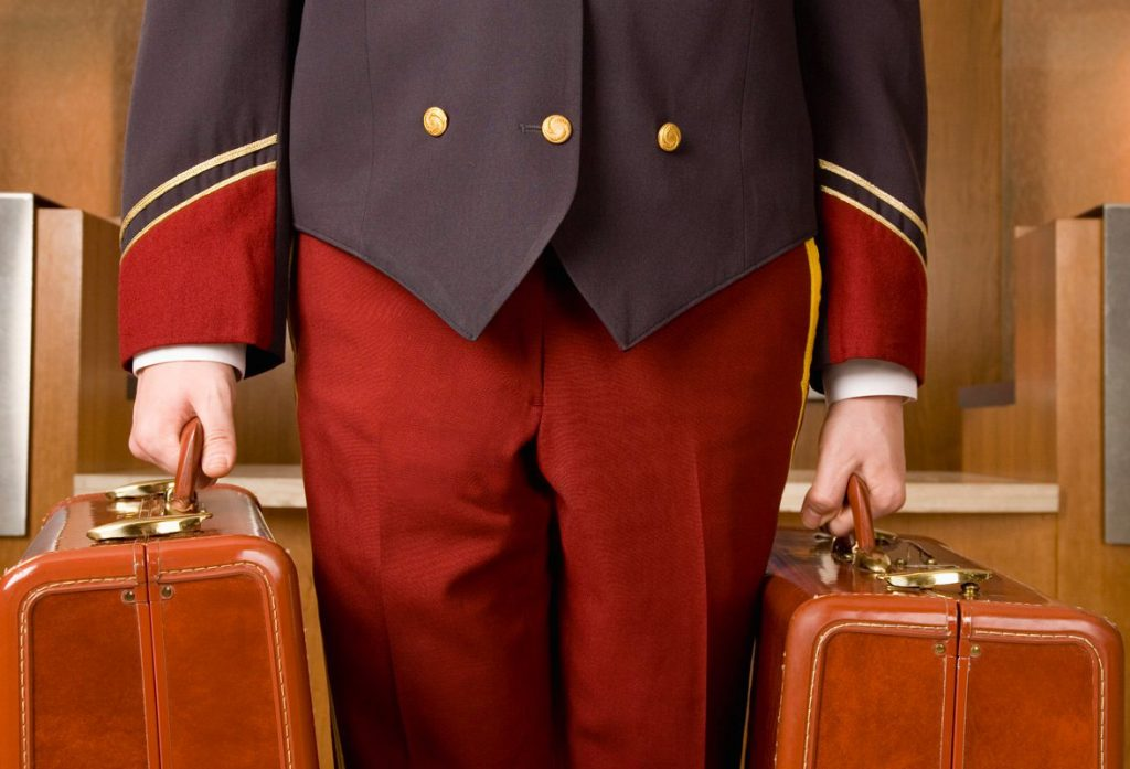 Hotel Concierge & Bellboy